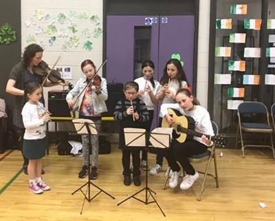 Seachtain na Gaeilge @ Bunscoil Phobal Feirste