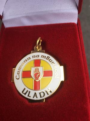 Craobh Uladh bainte don chéar uair ariamh! BPF Ulster Champions!
