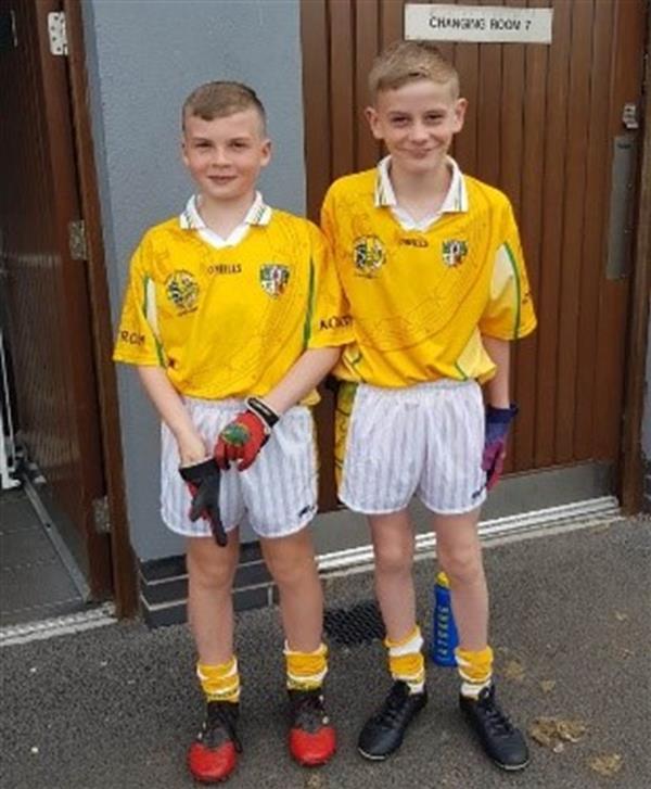 Foireann Bhéal Feirste. Belfast Schools All Stars