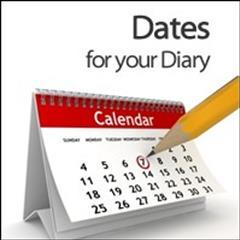 Dátaí don Dialann. Dates for the Diary