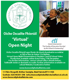Turas Fíorúil. Virtual School Tour by Student Council