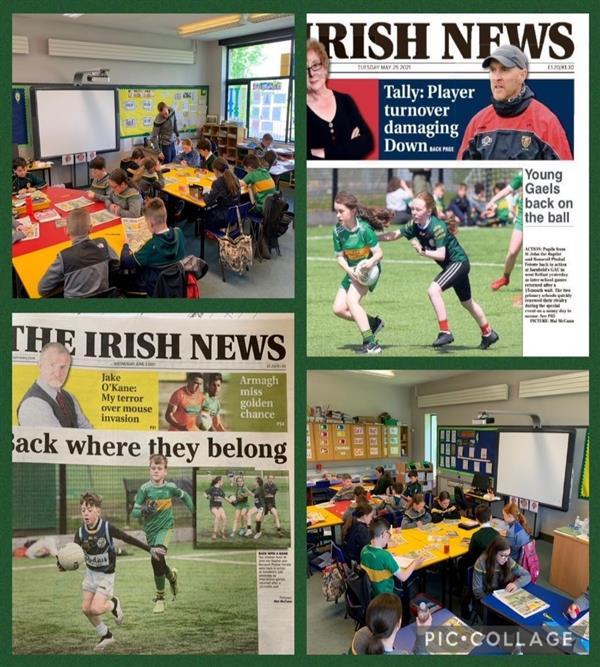 Spórt & Clár léitheoirí Óga an Irish News
